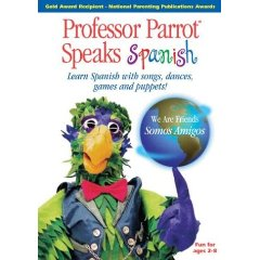 Professor Parrot Learns Spanish