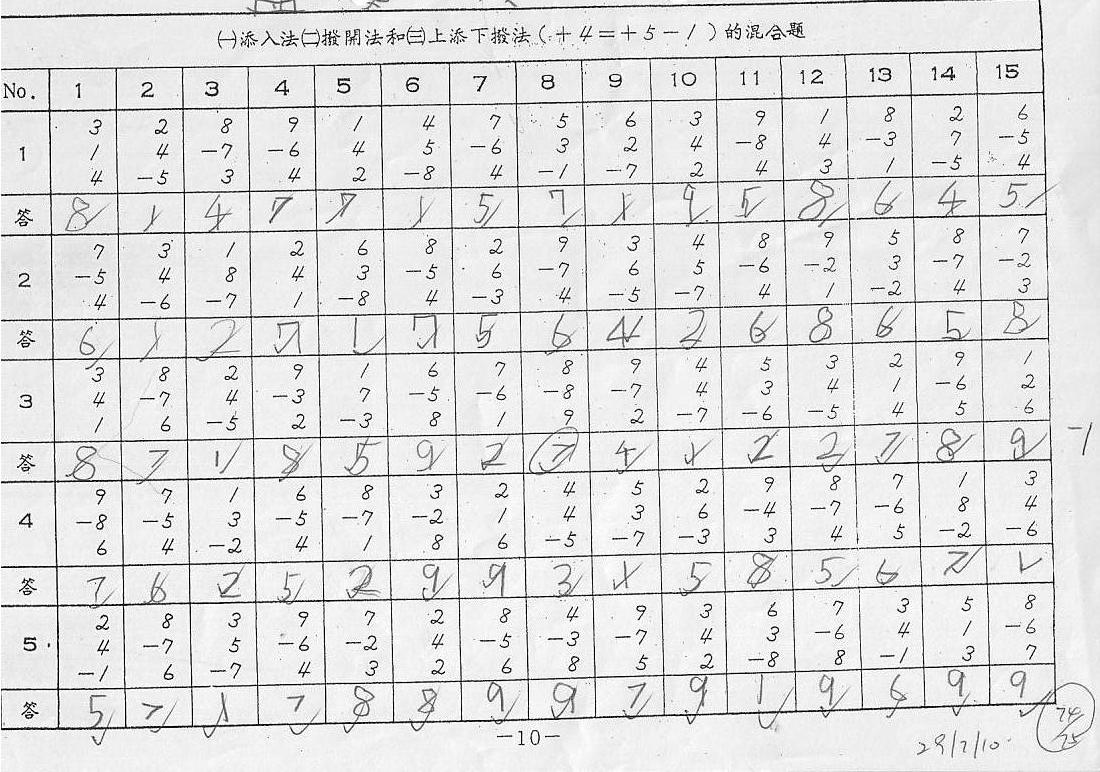 math worksheet : abacus  mental arithmetic  life long sharing  : Maths Abacus Worksheets