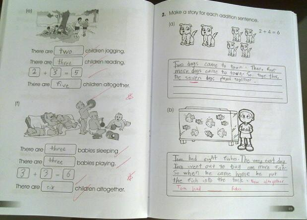 Primary 1 Maths Worksheets Malaysia - singapore math worksheets grade ...