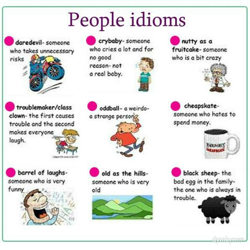 idioms and meanings for kids - photo #1