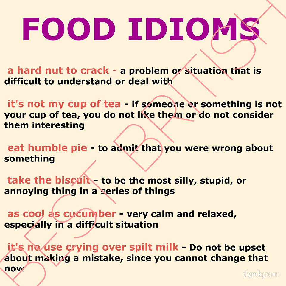 idioms for kids with meaning - photo #32