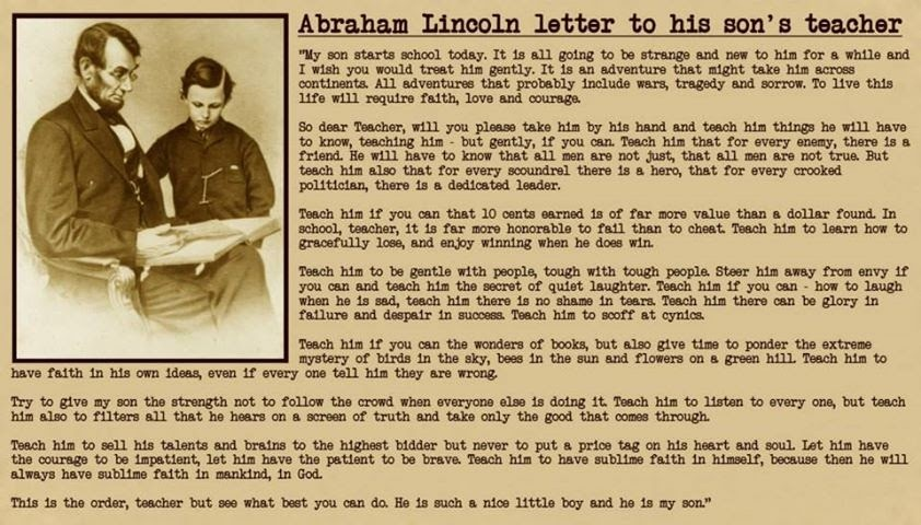 lincoln letter to mother december 2014 10151 | abraham lincolns letter