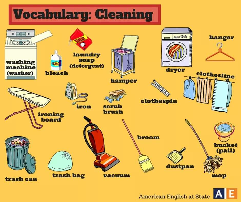 English Is Fun Cleaning Life Long Sharing