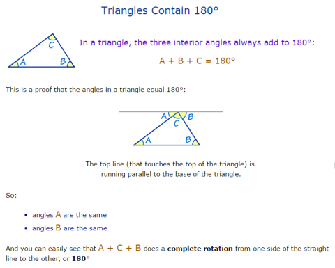 triangleAngles