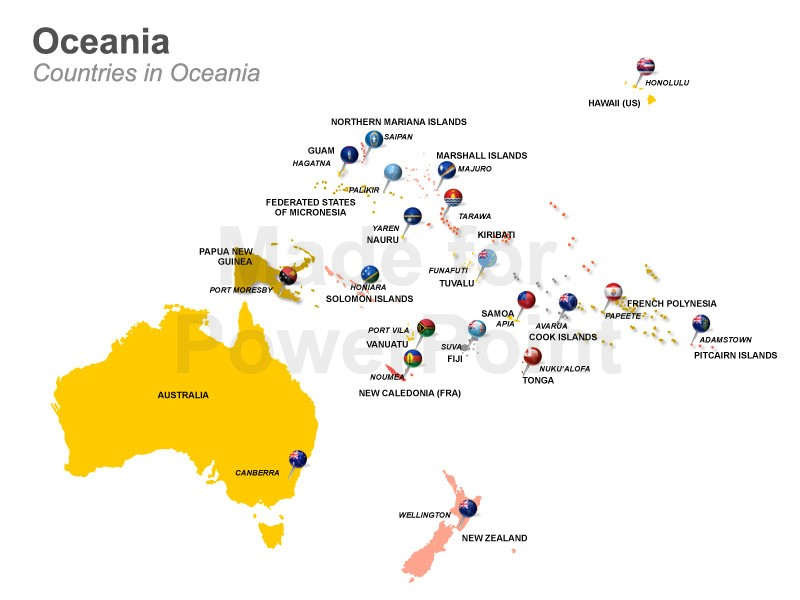 Geography – Australia and Oceania | Life long sharing . . .