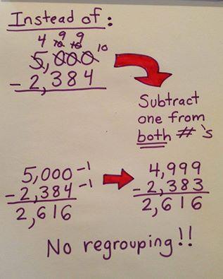 subtract-no-regrouping