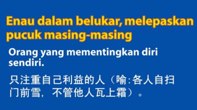 Bm Peribahasa 54 Enau Dalam Belukar Melepaskan Pucuk Masing Masing Life Long Sharing