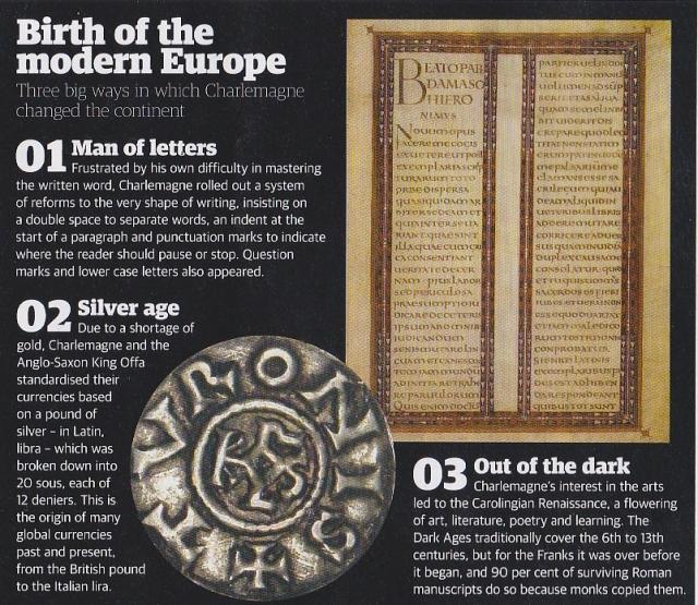 History Charlemagne Life Long Sharing
